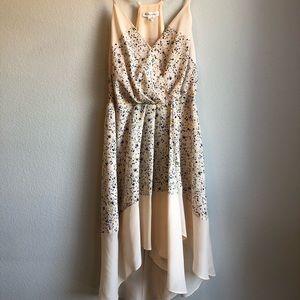 BCBGeneration abstract confetti dress